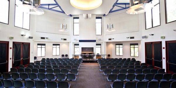 Inside AGR Hall