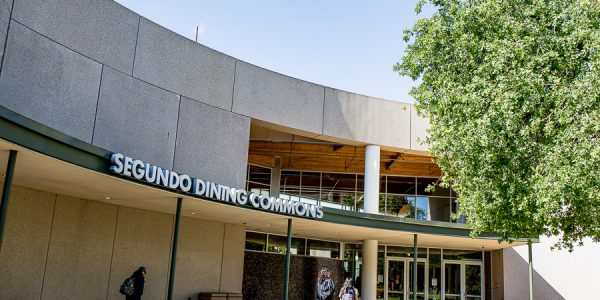 Outside Segundo Dining Commons