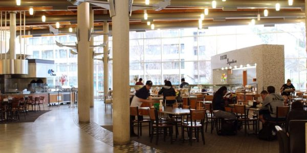 Inside Segundo Dining Commons